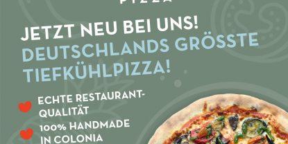 Frosty Pizza aus Köln jetzt in Flamersheim.